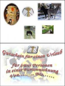Der Röhlsche Hof - Erlebnisbauernhof in Wallwitz Sachsen-Anhalt - Gutschein II